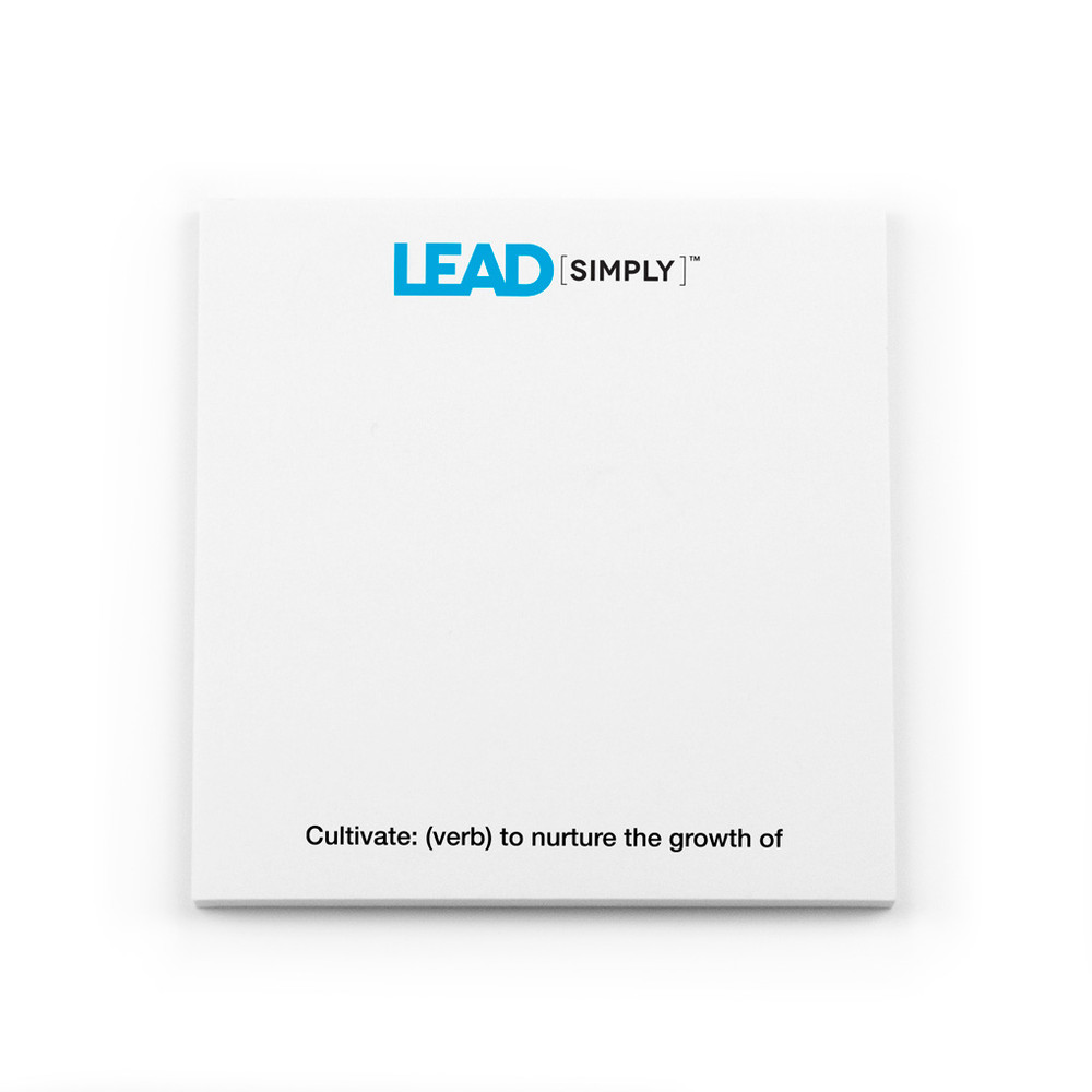 Lead [simply] Post-it Notes