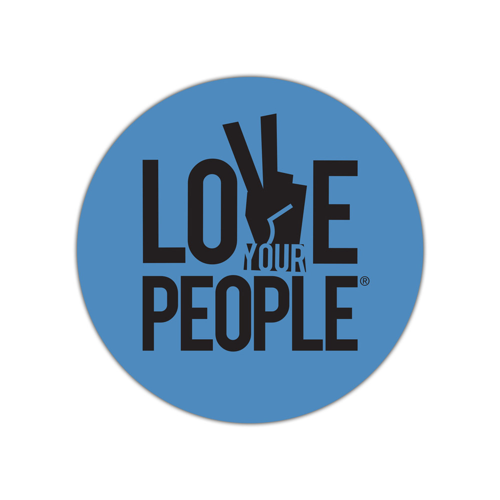 Love Your People Stickers - small