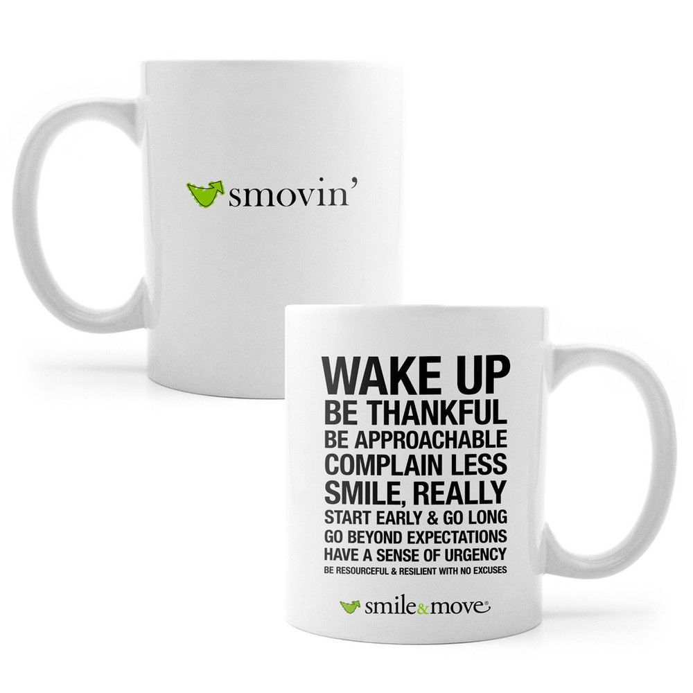 Smile & Move (Smovin') Mug (11 oz)