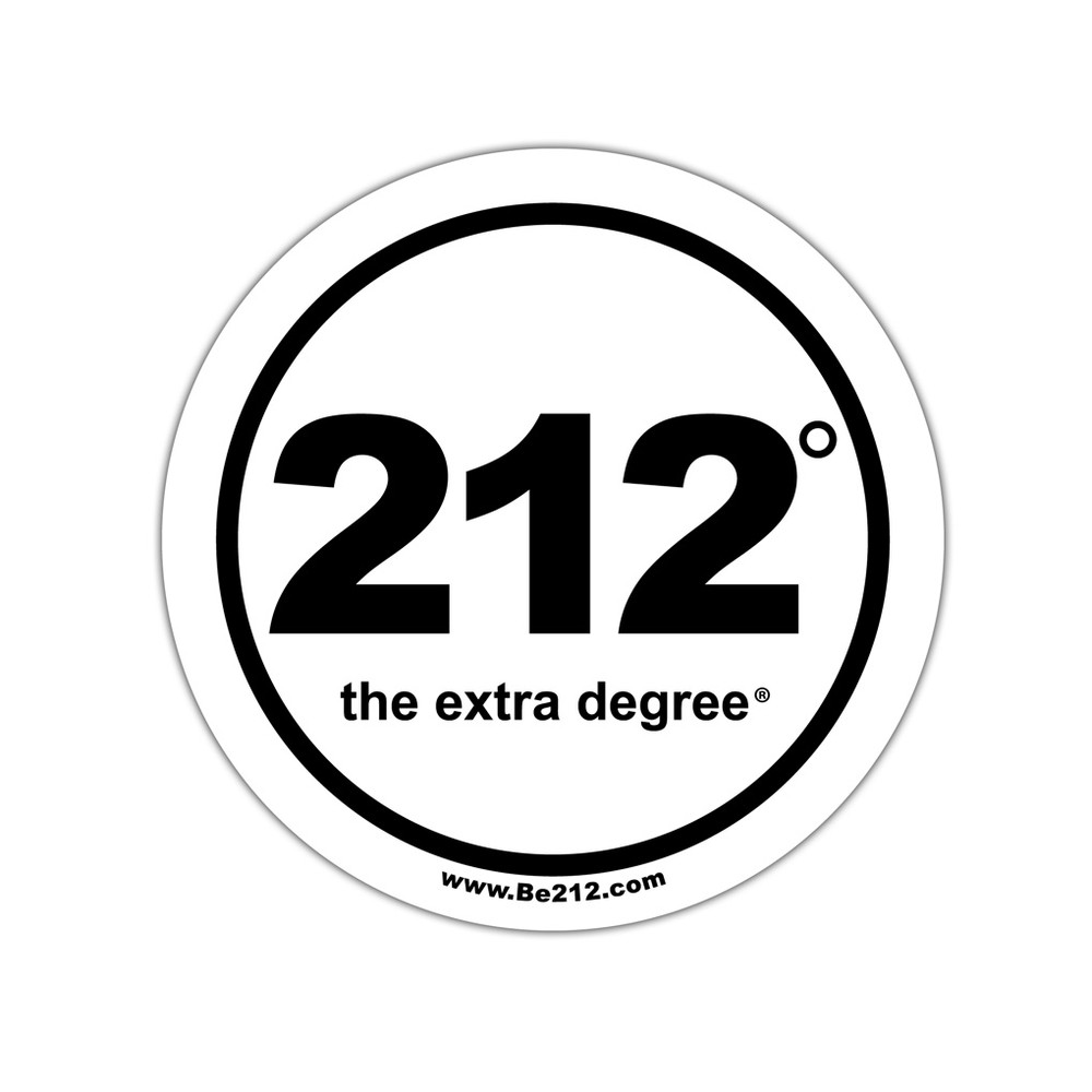 212° Stickers - large (official logo)
