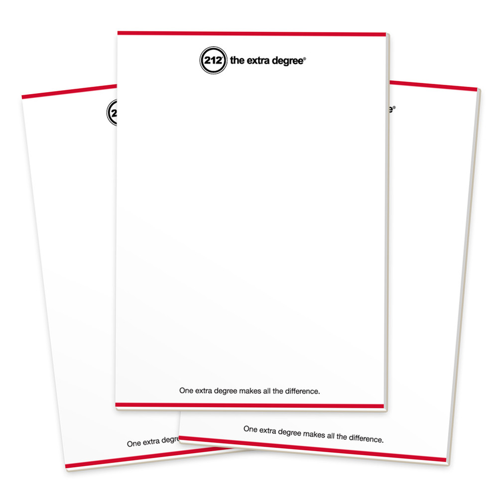 212° Notepads (3 pack)