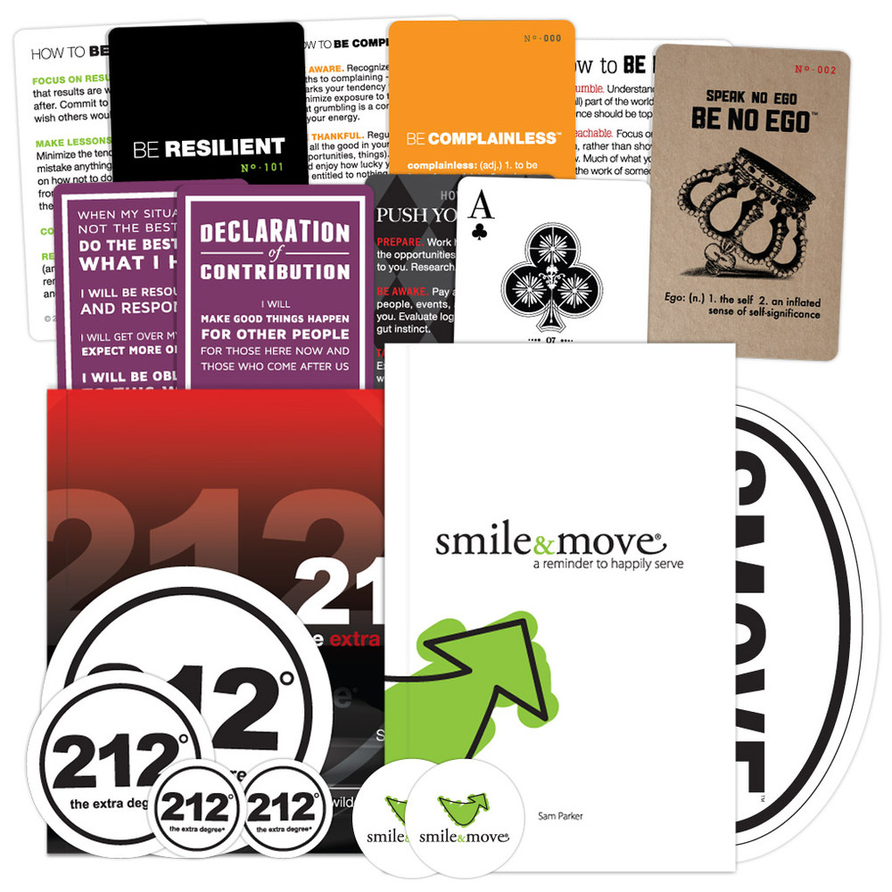 212° the extra degree/ Smile & Move Combo Pack