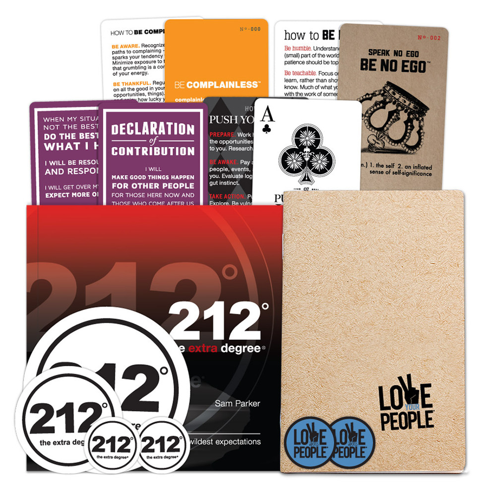 212° the extra degree/ Love Your People Combo Pack
