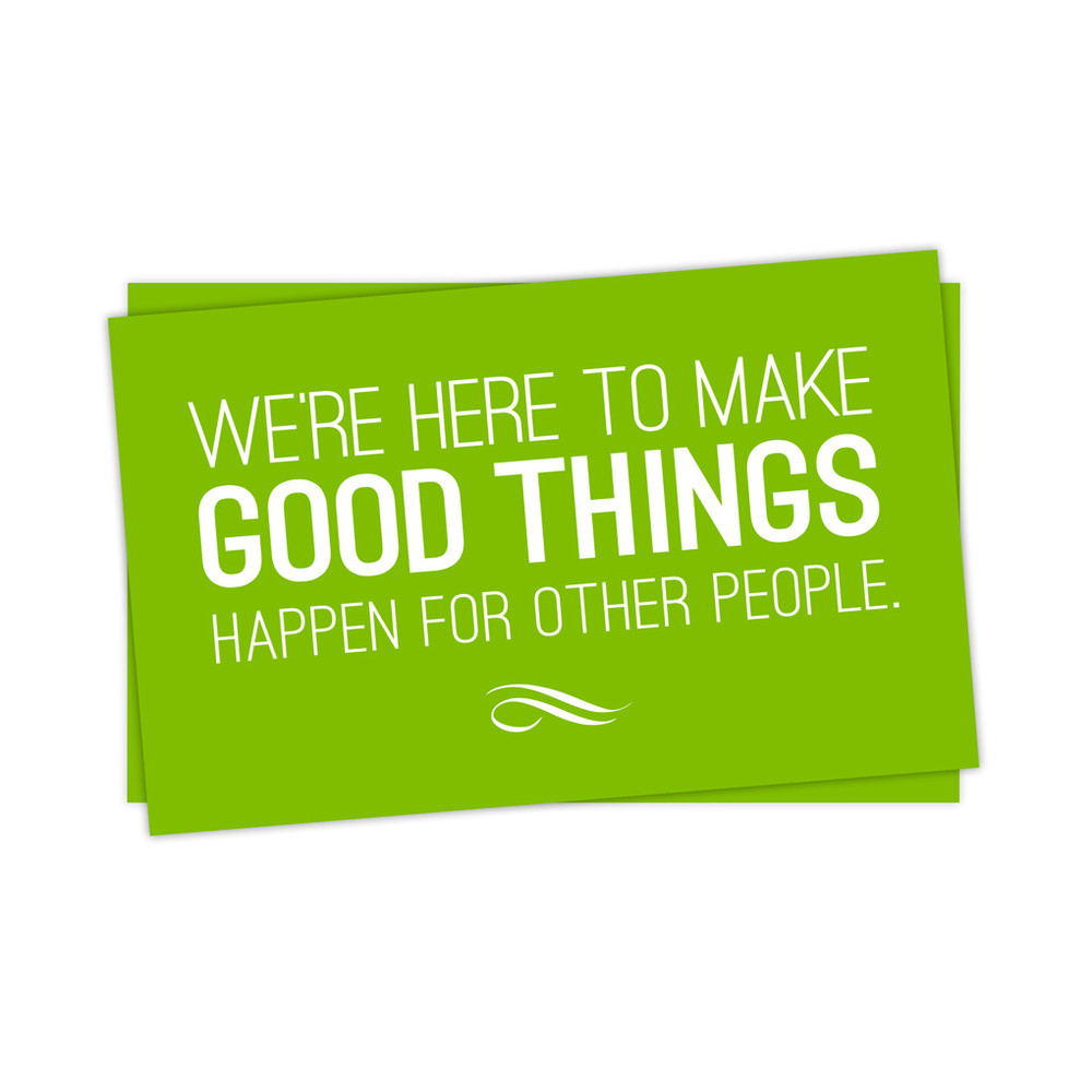Make Good Things Happen Stickers - small