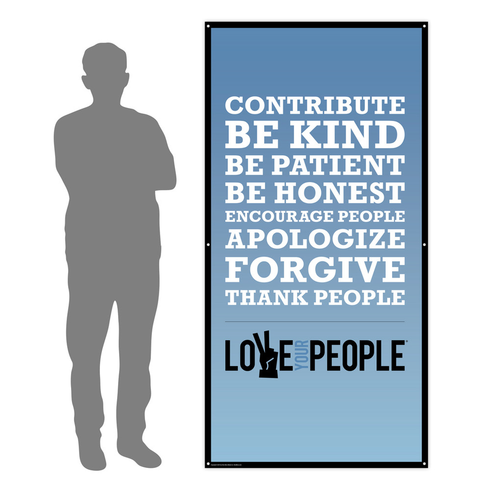 Love Your People 3x6 Banner