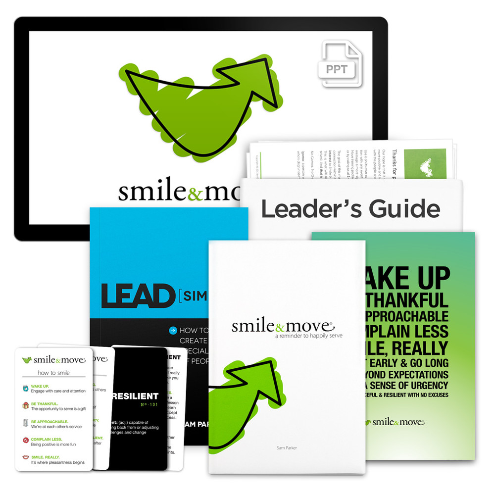 Smile & Move PowerPoint Presentation Package