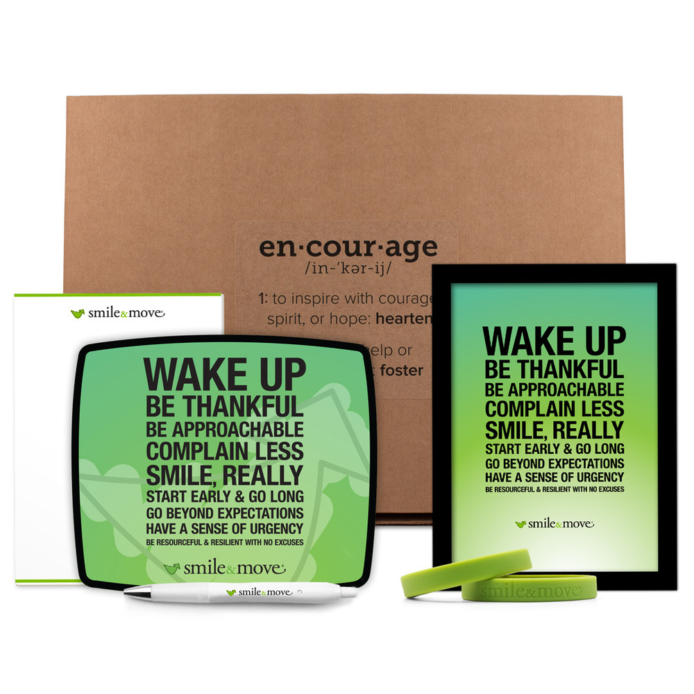 Smile & Move Encouragement Pack