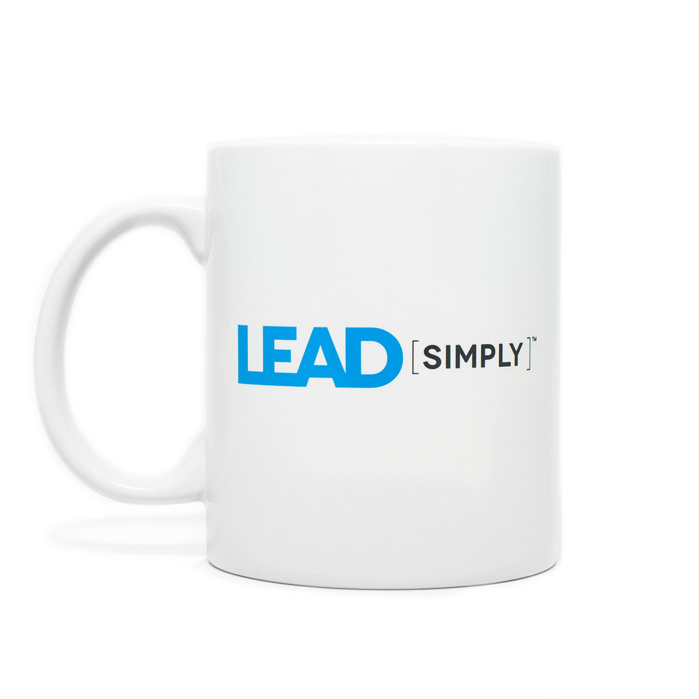 Lead [simply] Mug (white - 11 oz)
