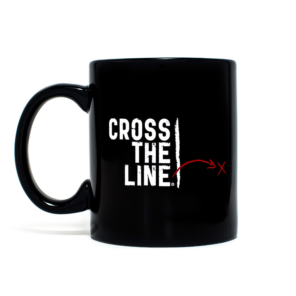 Cross The Line Mug (11 oz) - Original Version