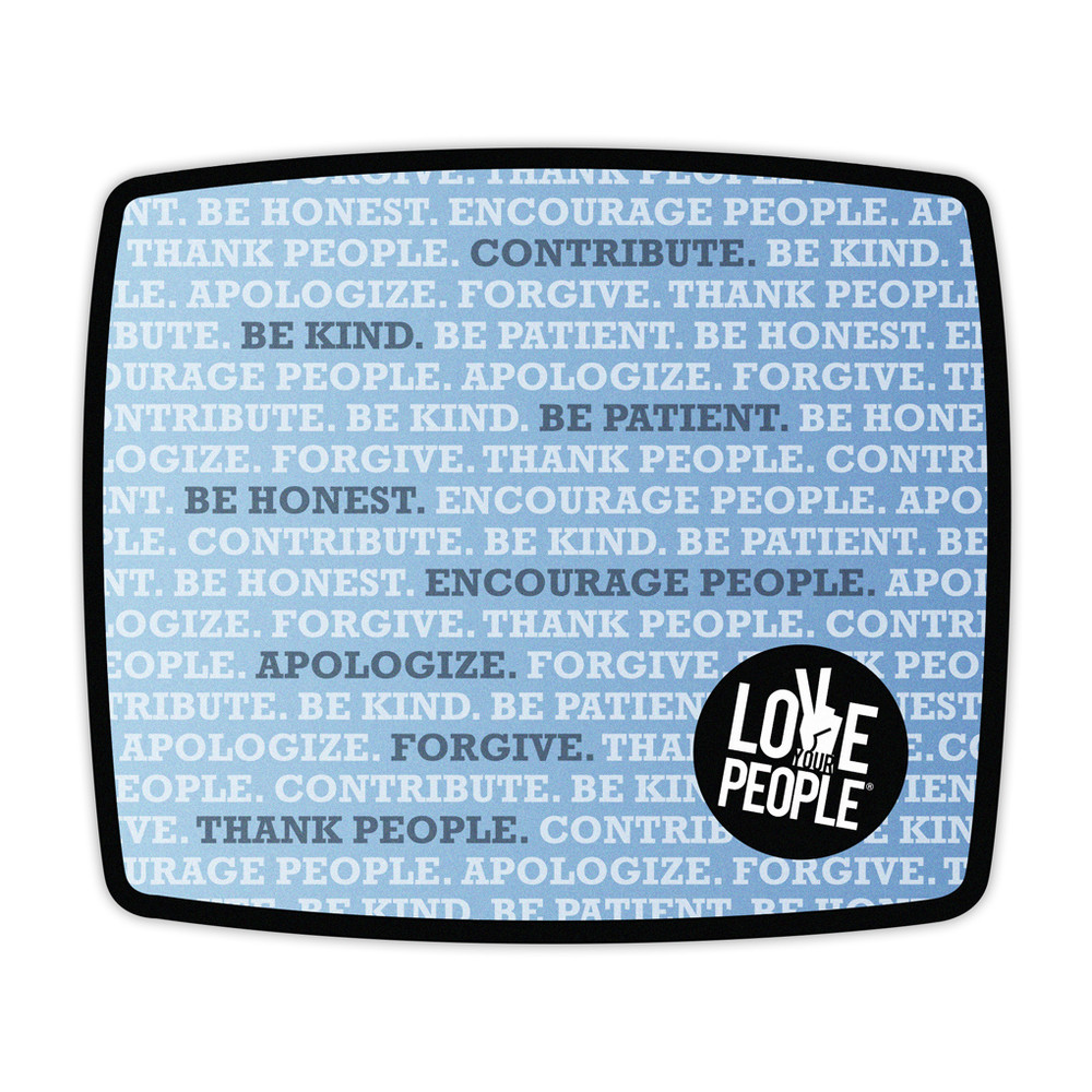 Love Your People Mouse Pad (rectangle)