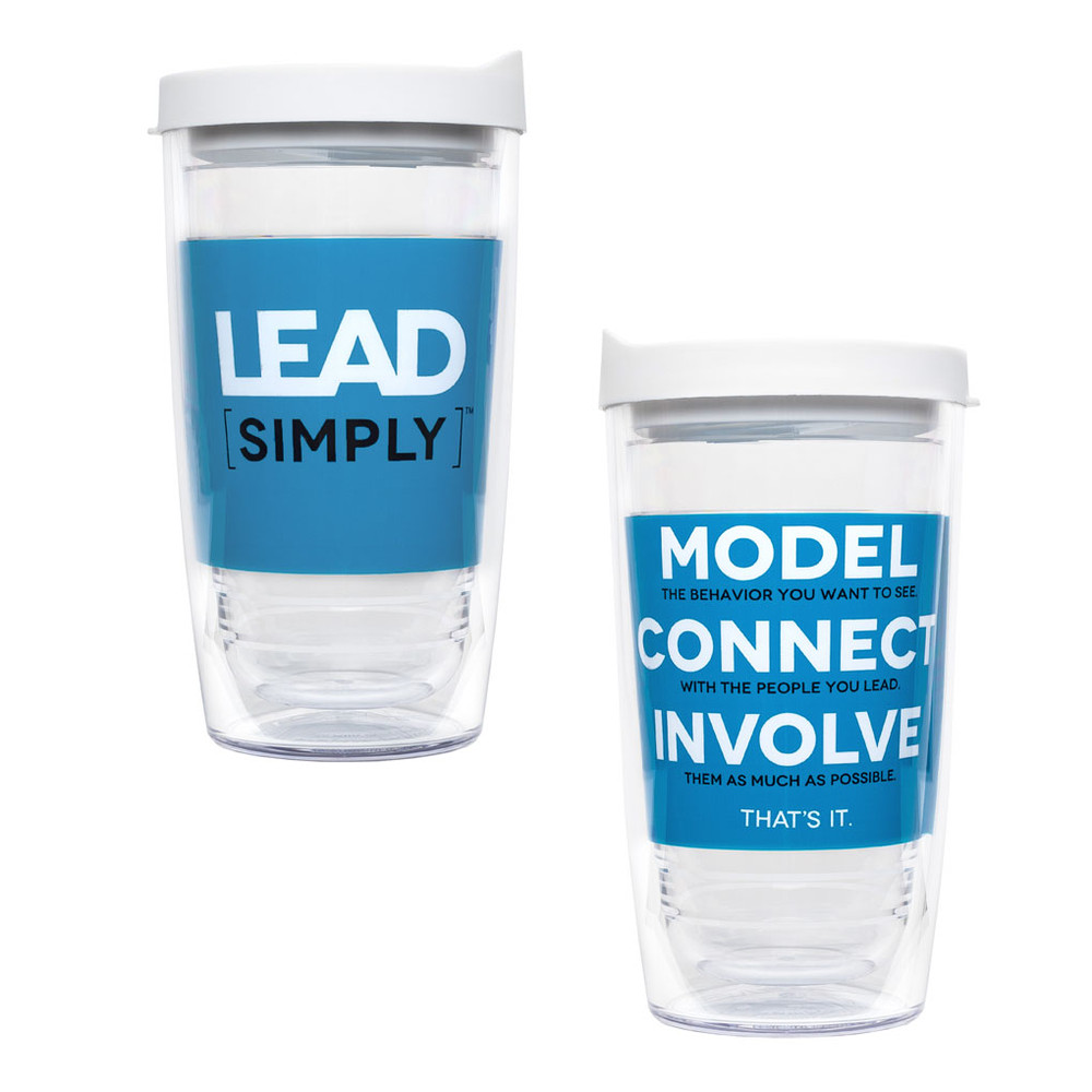 Lead [simply] Tervis Tumbler (16 oz)
