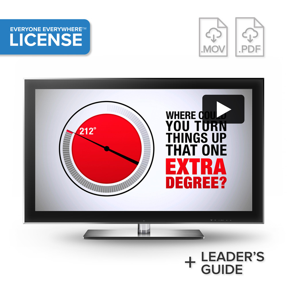 212° the extra degree Video - License