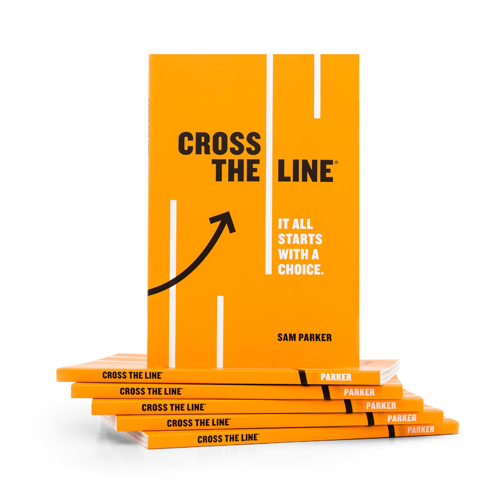 Cross The Line Book