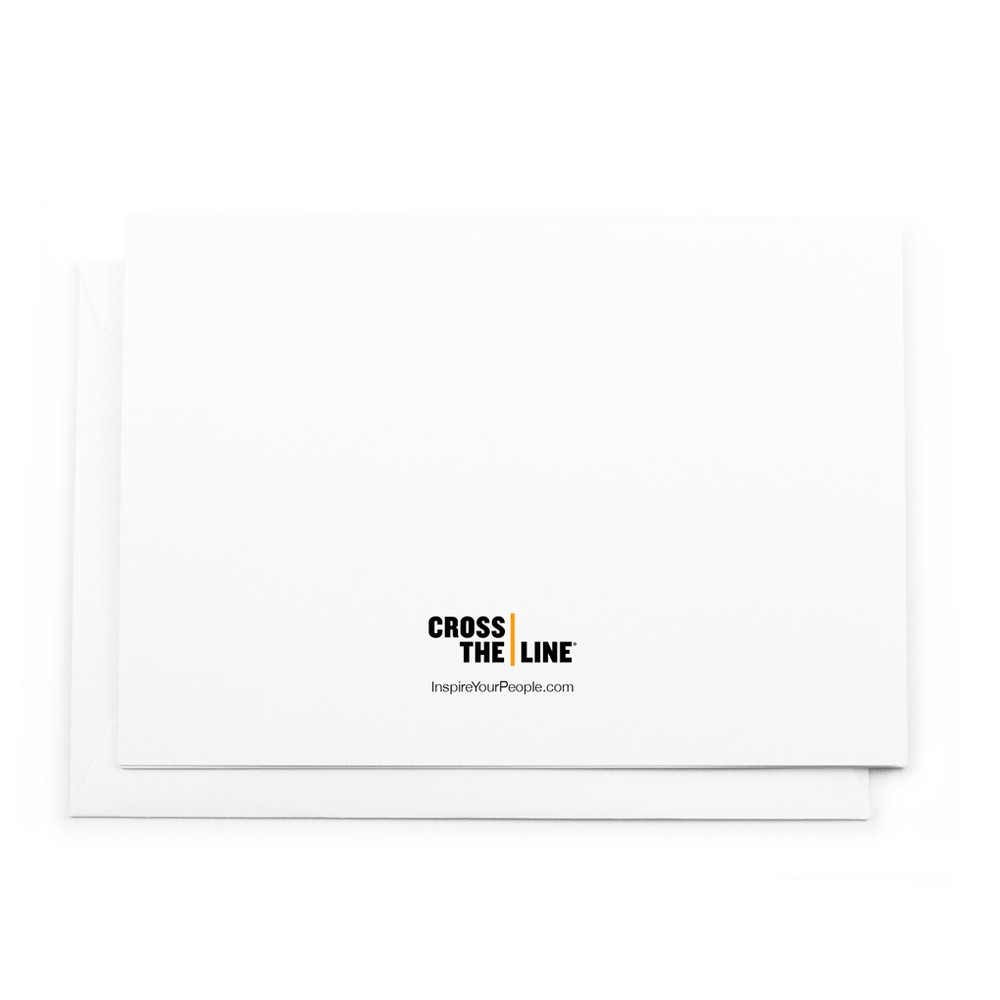Cross The Line Cards - Combo Pack