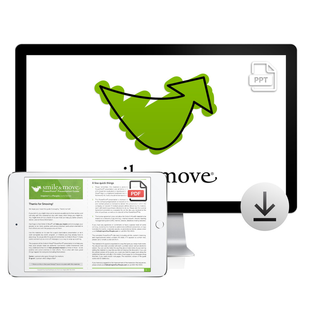 Smile & Move PowerPoint® Presentation Download