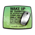 Smile & Move Mouse Pad