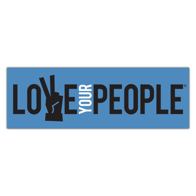 Love Your People Stickers - rectangle