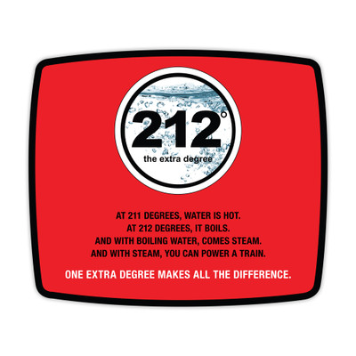 212° Mouse Pad (red)