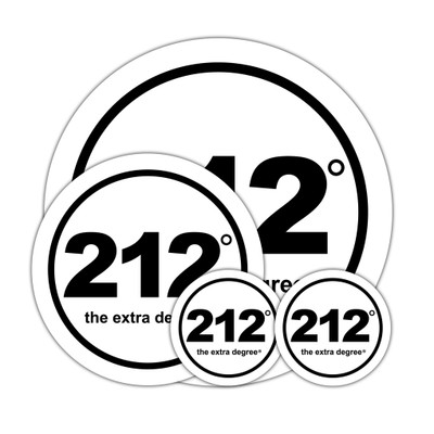 212° Sticker Set (official logo)