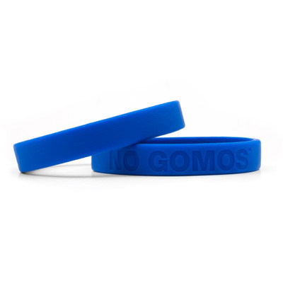 NO GOMOS Wristbands (blue)