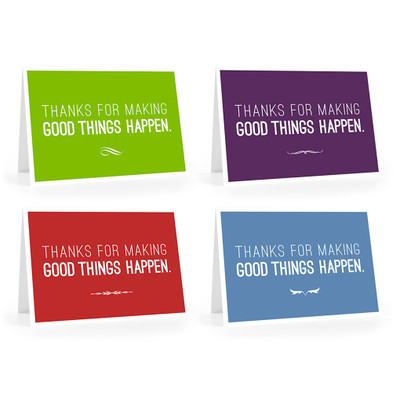 Make Good Things Happen Cards - Thanks for combo pack