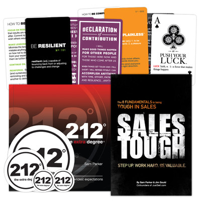 212° the extra degree/ SalesTough Combo Pack