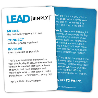 Lead [simply] Pocket Card (single)