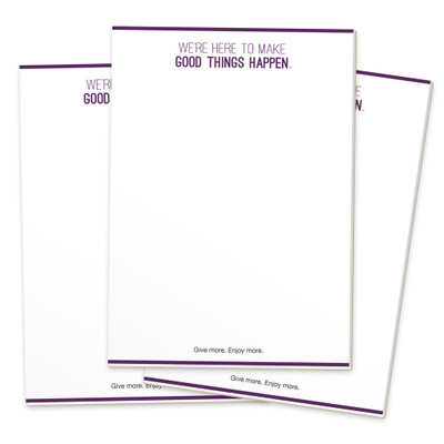Make Good Things Happen Notepads (3 pack)
