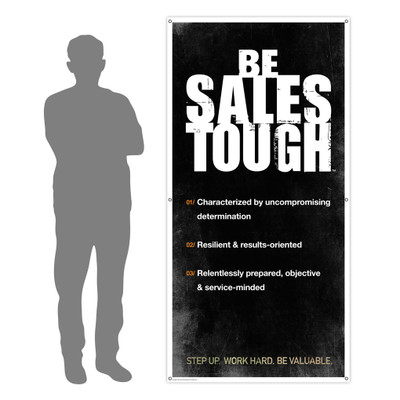 SalesTough 3x6 Banner