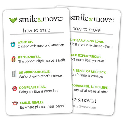 Smile & Move Pocket Card (single)