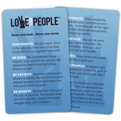 Love Your People Pocket Card (single)