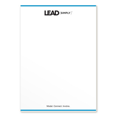 Lead [simply] Notepad (single)