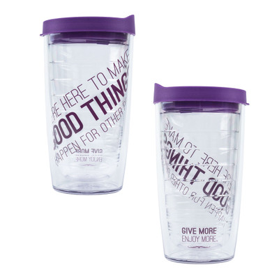 Make Good Things Happen Tervis Tumbler (diagonal - 16 oz)