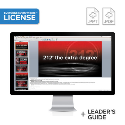 212° the extra degree PowerPoint® Presentation License