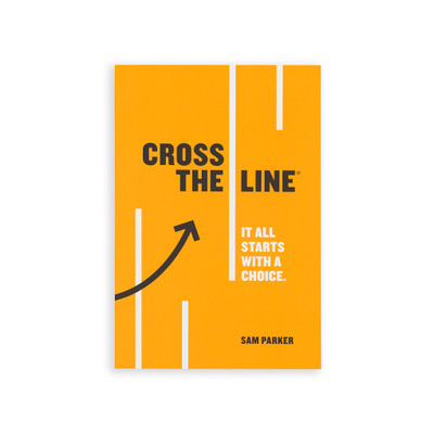 Cross The Line Book (single)