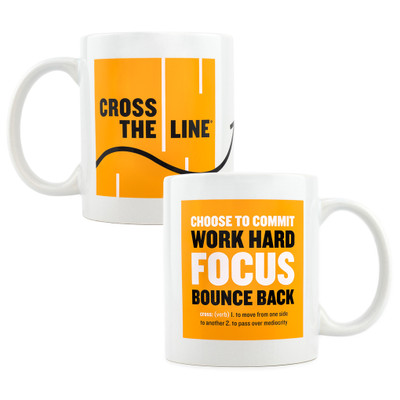 Cross The Line Mug (11 oz)