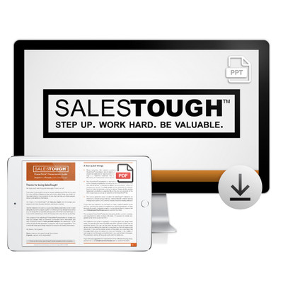 SalesTough PowerPoint®  Presentation Download