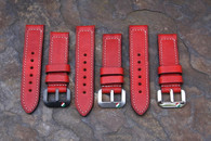 Italian Shield Buckle Straps Handcrafted in ItIaly
