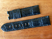 Panerai OEM 22/20 mm Black Alligator standard length: Retail $390 Now $350 USD