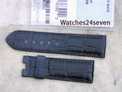 Panerai OEM Dark Blue Alligator strap 22/20 mm standard
