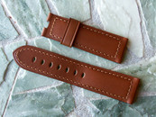 Panerai OEM Tan Calf Strap Standard length NOW $225 USD