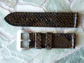 Strapmaster DZ 24 mm Brown Snake w/ DZ buckle $165 USD