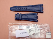 Audemars Piguet OEM Alligator Barricello Blue