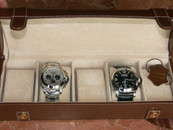 Five Watch Travel Case Brown Leather $125 USD