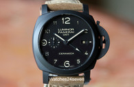 Panerai PAM 441 Luminor 1950 3days GMT Automatic Ceramica 44mm