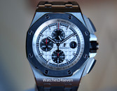 Audemars Piguet Royal Oak Offshore Chronograph White Dial