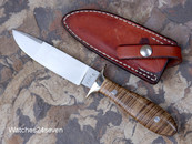 Jerry Fisk Personal Protection # 5 Fixed Blade with Sheath