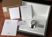 IWC Portuguese 7 Day Automatic White Dial Blue Hands
