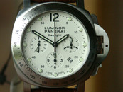 Panerai PAM 251 Luminor Daylight Chronograph Cream Dial 44 mm