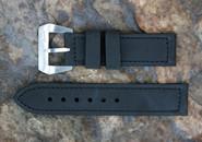 DIRK Straps Made in Italy Original Anfibius Black Calf Water Resistant